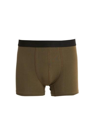 Defacto –Fit Esnek Kumaş Standart Kalıp 3'lü Boxer Yeşil